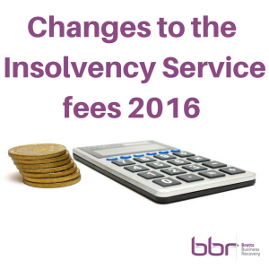 changes to insolvency fees
