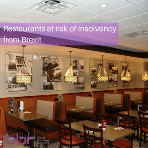 restaurants at risk from insolvency