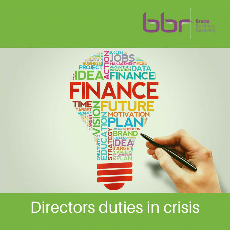Key duties for directors in times of crisis