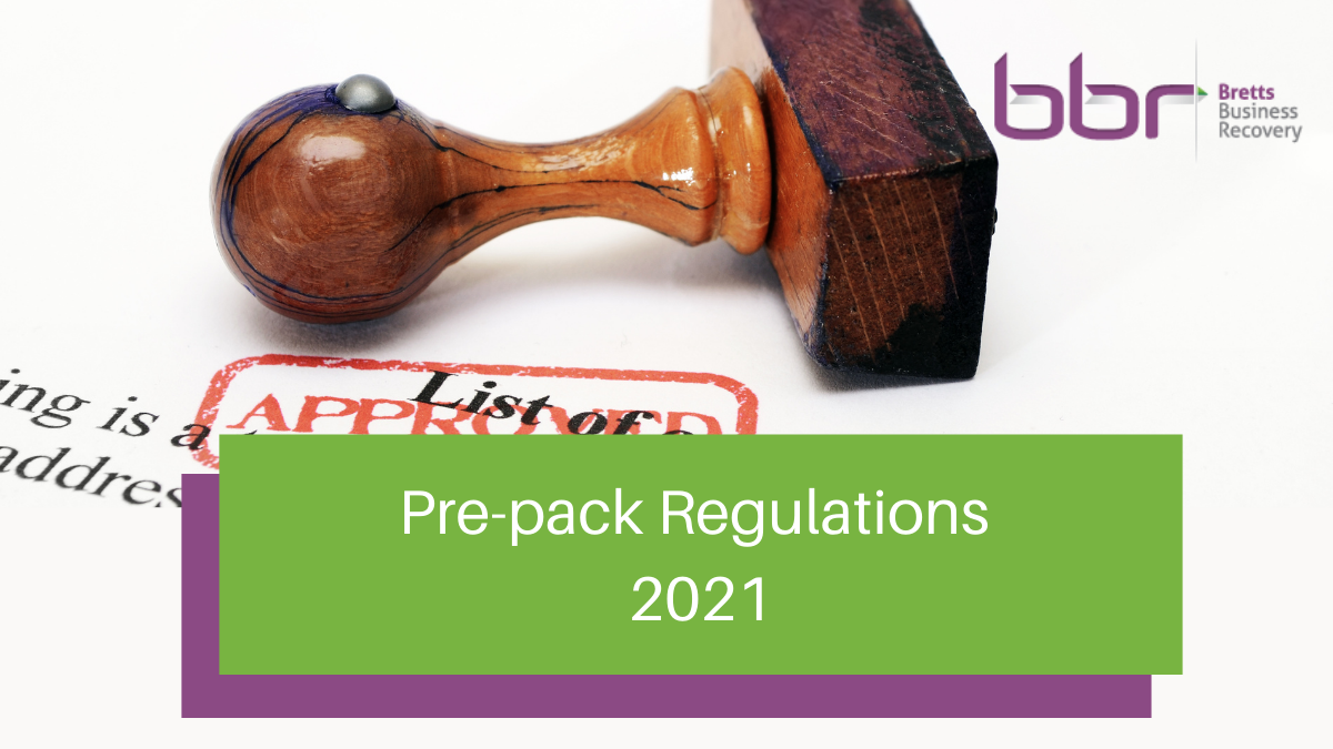Pre-pack regulations 2021